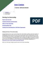 During An Internship _ Pomerantz Career Center