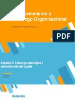 Capítulo 11. Liderazgo Estratégico y Administración del Cambio