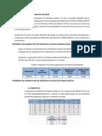 CARACTERIZACIÓN DE RESIDUOS SOLIDOS y botadero actual.docx