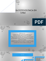 ENERGÌA FOTOVOLTAICA EN CHILE
