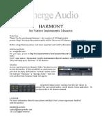 Harmony_manual.pdf