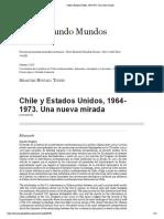 Chile y Estados Unidos, 1964-1973. Una nueva mirada