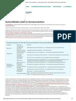 Generalidades sobre la farmacocinética