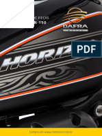 Catálogo de Peças Horizon 150