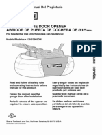 Garage Door Opener Manual