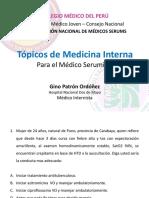 Topicos de medicina SERUMS