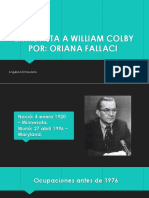 William Colby - Angélica Echavarría