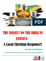 Assault on the Bible in Jamaica- a Local Chrisian Defense!!