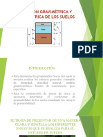 RELACIÓN GRAVIMÉTRICA Y VOLUMÉTRICA DE LOS SUELOS