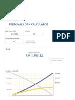 Personal Loan Calculator Malaysia
