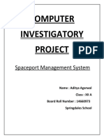 Flight Reservation(Computer Science project)