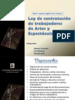 Ley de Artes y Espectáculos