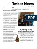The Timber News! -- December 2010