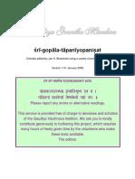 gopala-tapani_upanisad_-_critical-edition