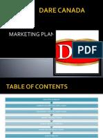 DARE CANADA marketing plan
