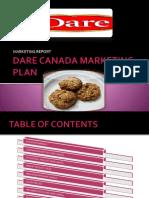 Marketing plan of DARE CANADA_BR_20 JULY