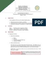 Lesson Plan-Grade 6 TLE