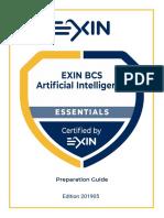 EXIN BCS AI Preparation Guide