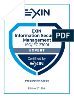 EXIN Information Security Management Expert Preparation Guide