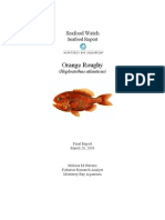 Seafood Watch Orange Roughy Report