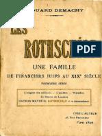 Demachy Edouard - Les Rothchild Une famille de financiers juifs au XIXe siècle Première série.pdf