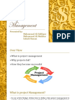 Project Management (Presentation)