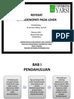 Presentasi referat radiologi rafi