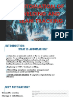 GROUP25-AUTOMATION OF WELDING AND SEAM TRACKING PPT.