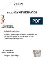Bio of Behav - CH 02