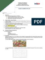 Lesson Plan in Media Literacy (Types of Media)