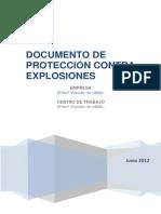 MODELO_DOCUMENTO_PROTECCION CONTRA EXPLOSIONES