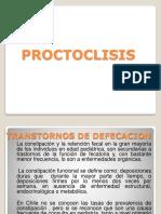 PROCTOCLISIS