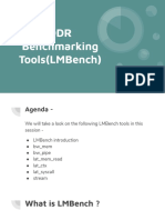 DDR Benchmarking Tools(LMBench)