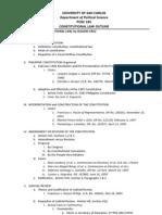41988615 Consti Law Outline Part I