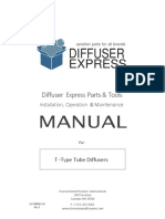 M-CP005D-EN  Manual, Component, T-Type Tube Diffusers (MPT)