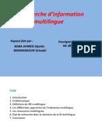 La recherche d_information multilingue