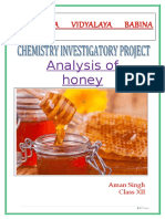 analysis of honey.doc