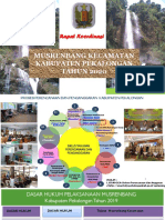 Paparan Persiapan MurenCAM 2020 Kabupaten Pekalongan