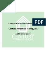 Audited Financial Statements analysis
