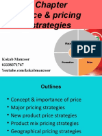 Chapter # 5 & 6 Pricing strategies vv
