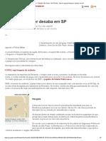 G1 _ Edição São Paulo - NOTÍCIAS - Teto da Igreja Renascer desaba em SP