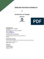 01 Introducción a la Teología INTRO