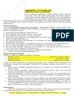 tarefas Prévias para o LIvro de MArcos - 27 e 28 de Junho.16