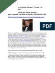 What is Putative President Obama's Current U.S. Citizenship Status?