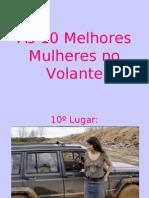 Top 10 Women Drivers