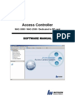 Access Manage User Manual