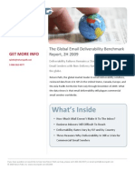 The Global Email Deliverability Benchmark 2009