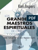 Grandes Maestros Espirituales de Oriente y Occidente - Jaspers.pdf