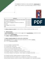 Ficha de trabalho - revisões
