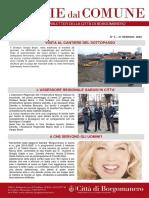 Notizie Dal Comune di Borgomanero del 31-01-2020